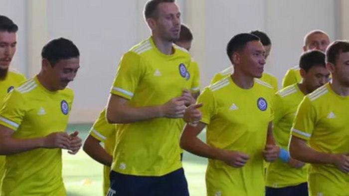 Сборная Казахстана начала подготовку к встрече с Украиной в отборе на ЧМ-2022