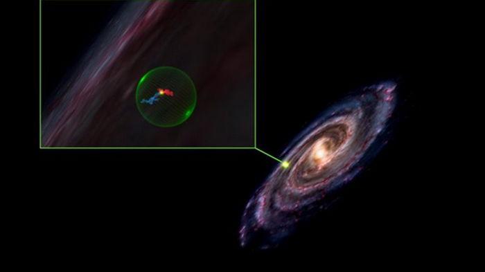 В космосе обнаружили огромную сферическую полость (видео)