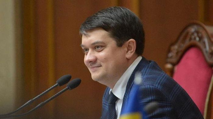 Разумков рассказал о действиях в случае отставки