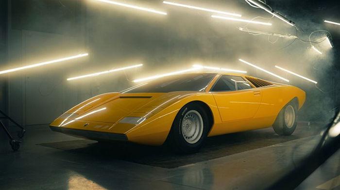 Lamborghini воссоздала первый экземпляр Countach (видео)