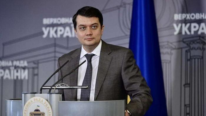 Разумков подаст в суд, если его лишат мандата