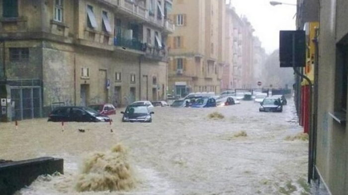 Дожди в Италии установили новый европейский рекорд (видео)