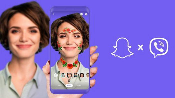 Viber запустил маски дополненной реальности для украинцев (фото)