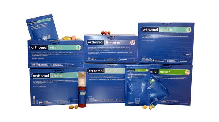 Немецкие витаминно-минеральные комплексы Orthomol: характеристики и преимущества